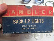 1964 AMC Rambler American NOS manual trans reverse backup lamp light kit