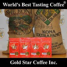 World's Best Tasting DARK ROAST Coffee - 4 lb Hawaiian Kona Fancy - French Roast