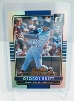 2015 Donruss George Brett Stat Line 3154 Cateer Hits #/400 - Kansas City Royals