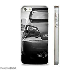 NEW SUBARU IMPREZA WRX CLEAR CASE FITS IPHONE 4 4S 5 5S 5C 6 6S 7 SE & PLUS