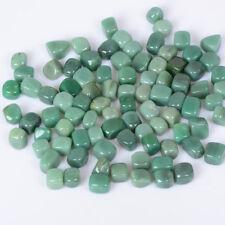 100g Square Green Aventurine Tumbled Stones Crystal Mineral Planting Decor Lot