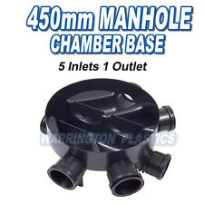 450mm Inspection Chamber Manhole Base 5 Inlets 1 Outlet