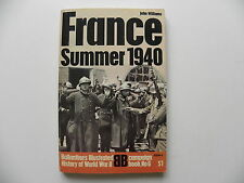 Livre militaire en anglais FRANCE Summer 1940 de John WILLIAMS