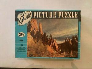 Vintage Needles Black Hills Guild Picture Puzzle Jigsaw Puzzle