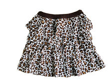 Discontinue Gymboree Age & Size 10 Ruffle Leopard brown Skirt