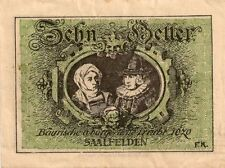 Circulated Emergency Issue Austrian Paper Money