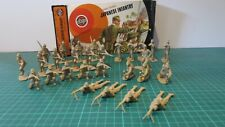 Airfix Japanese Infantry Figures 1/32 Scale, 28 figs, some damaged + Tatty Box