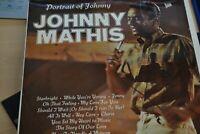 JOHNNY MATHIS     PORTTRAIT OF JOHNNY    LP   HALLMARK RECORDS  SHM 806