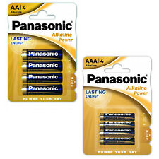 Nuevo Panasonic Combo Pack de AA y AAA Pilas Alcalinas De Bronce Power Pack 4