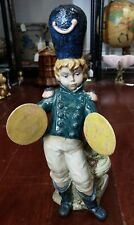 Vintage Nadal Porcelain Boy Playing Cymbals Figurine Made in Spain