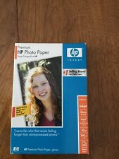 """HP Q1989A Premium Photo Paper Glossy 4"""" x 6"""" 60 Sheets - NEW Factory Sealed"""