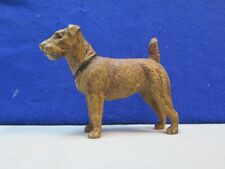 Antique Airdale Terrier Metal Dog Made In Germany 1910-1930