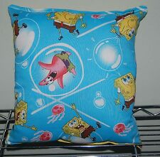 Spongebob Pillow Bubble SpongeBob and Patrick Pillow HANDMADE in USA