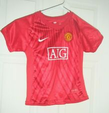 Manchester United AIG Nike FIT Authentic Football  Shirt jersey Youth XS Used