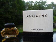 Miniature - KNOWING de ESTEE LAUDER - EDP 3,5 ml - Plein - Boîte - Perfume Mini