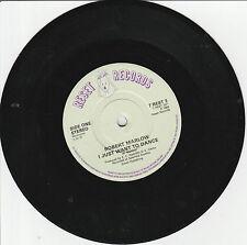 "Robert Marlow-I just want to dance/No heart 7"" Single Reset 1983(Erasure)"