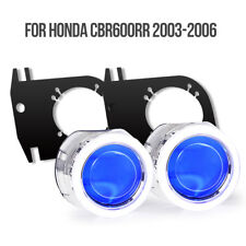 Tailor-made Angel Eye HID Light HID Projector for Honda CBR600RR 03-06  Blue