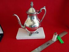F.B. ROGERS & CO., TRADEMARK 1883 SERIES, SILVER TEA/COFFEE POT, FOOTED BASE.