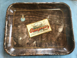 HABERLE Brewing Co. Congress beer Tray Early Syracuse NY