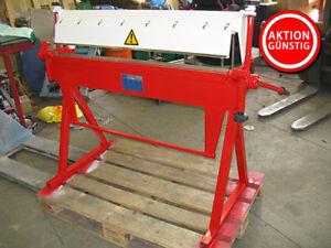 Schwenkbiegemaschine Mubea MCH 1050×1.2 | Blechbiegemaschine | Biegemaschine