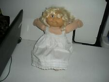 "15"" Cabbage Patch Doll Xavier Roberts 1986 Has Original Cabbage patch Hair Clip"