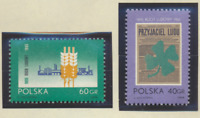 Poland Stamps Scott #1322 To 1323, Mint Hinged