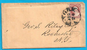 US #11a ON COVER WITH SHORT LETTER 1853
