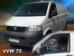 +HEKO Windabweiser für Volkswagen CARAVELLE BUS T5/T6 ab 2003 bis heute 2 tlg