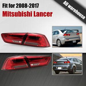 LED Tail Lights Sequential Indicators for 08-17 Mitsubishi Lancer CF CJ EVO X