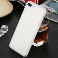 Shockproof Thin Soft TPU Silicone Matte Back Case Cover for iPhone 5 6s 7 8 Plus