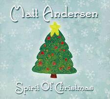 Matt Andersen - Spirit of Christmas [New CD]