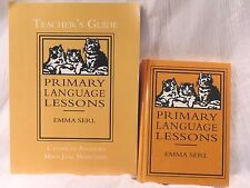 Primary Language Lessons Set Emma Serl  MFW  Home school Mason English