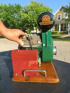 Vintage REO MOTORS ENGINE MOTOR Museum Quality SHOW Piece PRISTINE & RUNNING!