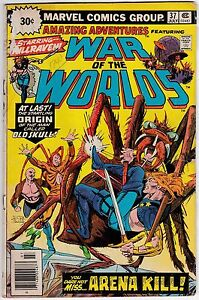 Amazing Adventures #37 War Of The Worlds Killraven 30 Cent Variant!