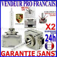 2 D3S AMPOULES XENON LAMPE FEU PHARE 35W HID 5000 6000 8000 POUR PORSCHE 12V