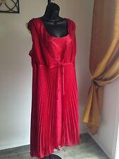 Lane Bryant Women's Dress Sleeveless Sparkle Plus Size 22 XL Red $89.50 NWT
