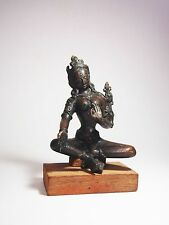 A Tibet Bronze Figure of Seated Parvati, 18th Century