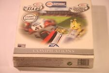 PC EA COMPILATIONS STARS/ SUPERBIKE WORLD CHAMPIONSHIP / FOOTBALL MANAGER 2000
