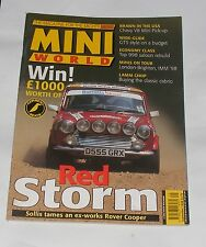 MINI WORLD SEPTEMBER 1998 - RED STORM/BRAWN IN THE USA/ECONOMY CLASS/LAMM CHOP