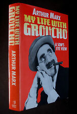 Book - My Life With Graucho Arthur Marx 1988 1st Edition H/B D/J Biography
