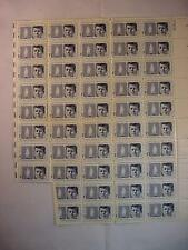 Scott 1246 5 CENTS JFK KENNEDY STAMPS 2 BLOCKS SHEETS 27809 ETERNAL FLAME