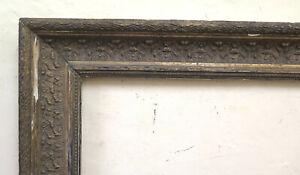 70x91 cm CORNICE ANTICA IN LEGNO STILE LIBERTY ART NOUVEAU PER QUADRI CB