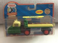 THOMAS & FRIENDS WOODEN RAILWAY MADGE FLATBED TRUCK AS NEW COLLECTOR CARD PACK