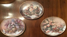 Lot of 3 Vintage Lena Liu Country Accents Numbered Bradford Exchange 1995 Plates