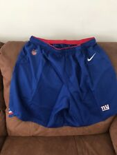 Nike Dri Fit New York Giants Football Practice Shorts New Out Tags Size 2XL Men
