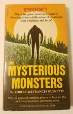 The Mysterious Monsters by Robert & Frances Guenette, Vintage 1975 Schick Sun