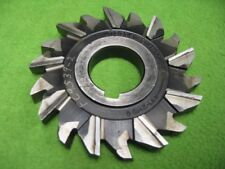 Staggered Side Milling Cutter 18T 4 x 1/2 x 1-1/4