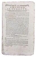 Marat en 1795 Marseille Toul Bicquilley Nancy Compiegne La Haye Révolution