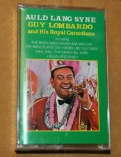 "Guy Lombardo Cassette ""Auld Lang Syne"" & Other Favorite Big Band Songs.Preowned"