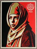Obey Universal Personhood AP print by Shepard Fairey signed and numbered